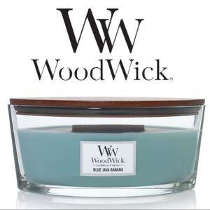 Woodwick Blue Java Banana Candle